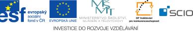 Logolink: EU, MSMT, OPV, Scio